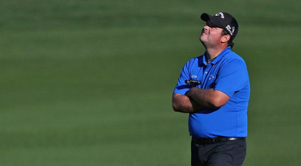 Patrick Reed during the third round of the Humana Challenge. Reed enters the final round with a seven-shot lead after three consecutive rounds of 63.