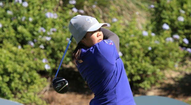 Bethany Wu at the Annika Invitational.