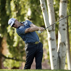 Charley Hoffman during the third round of the Humana Challenge.
