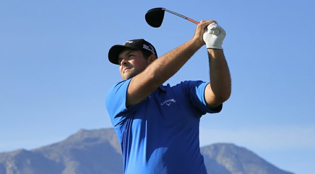 Patrick Reed during the third round of the Humana Challenge.