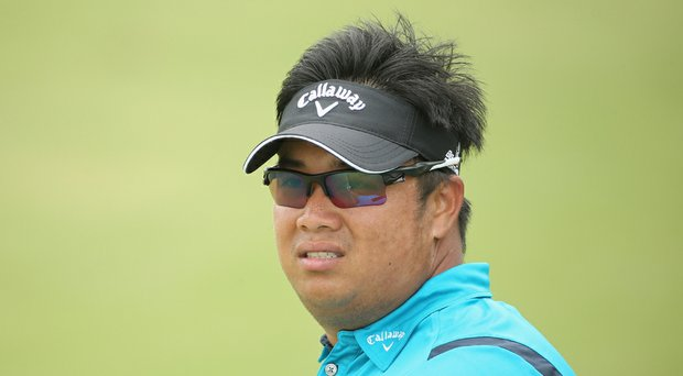 Kiradech Aphibarnrat during the Volvo Golf Champions.