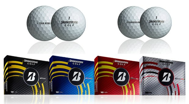Bridgestone Tour B330 golf balls for 2014: B330, B330S, B330-RX and B330-RXS.