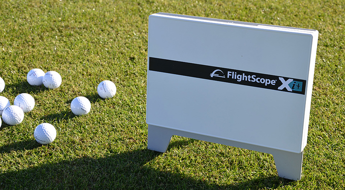 The FlightScope Xi provides real-time information about your shot's distance, ball speed, launch angle and more.