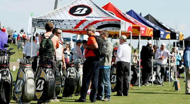 Demo Day kicked off PGA Show week, which will continue on Wednesday at the Orange County Convention Center in Orlando, Fla.