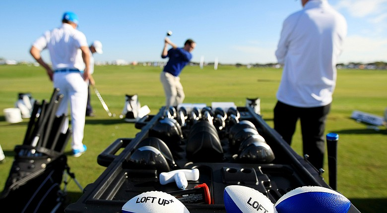 TaylorMade showed off the SLDR and more of its newest drivers at the PGA Show Demo Day at Orange County National near Orlando, Fla.