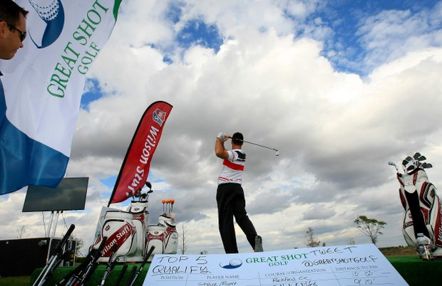 Great Shot Golf and the Million Dollar Hole in One Shoot Out at the PGA PGA Show Demo Day at Orange County National.