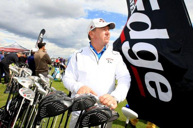 David Glod, Tour Edge Golf at the PGA Show Demo Day at Orange County National.