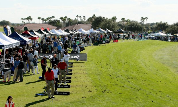 PGA Show Demo Day at Orange County National.