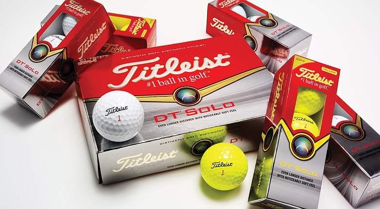 The Titleist DT SoLo golf ball is updated for 2014.