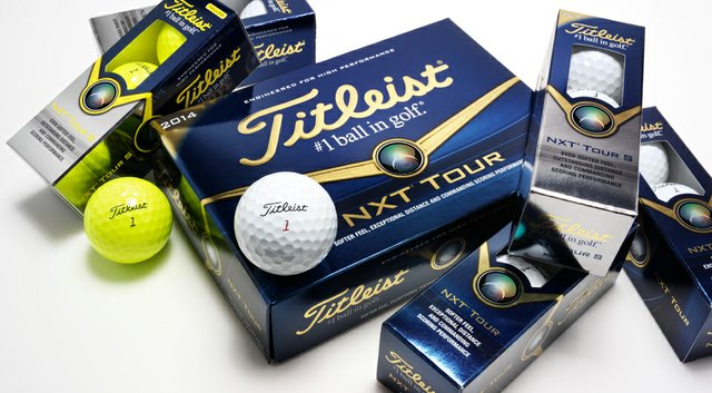 The Titleist NXT Tour and NXT Tour S golf balls are updated for 2014.