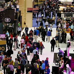 The 2014 PGA Merchandise Show at the Orange County Convention Center.