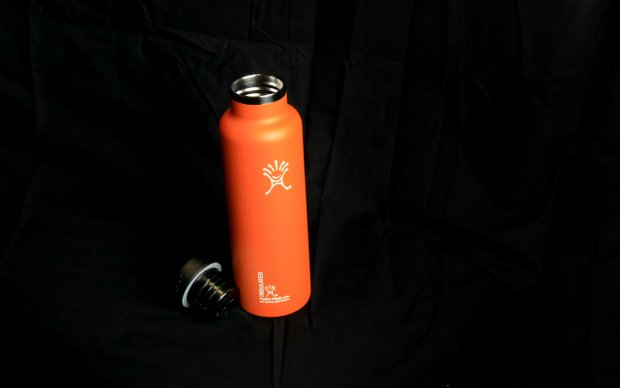The insulated Hydro Flask bottle for hot and cold at the 2014 PGA Merchandise Show at the Orange County Convention Center.