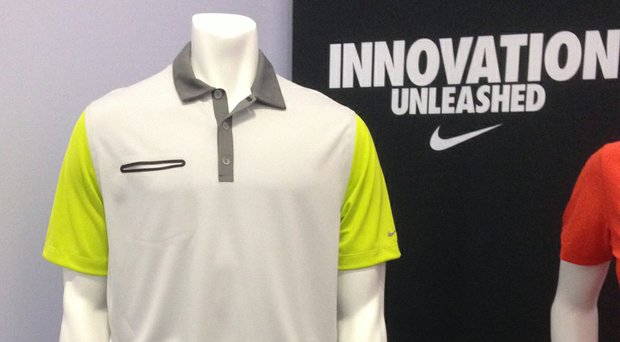 A year after joining Nike, Rory McIlroy had a big hand in the new Lightweight Innovation Color Polo on the PGA Show floor in Orlando, Fla.