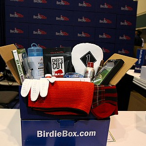 Birdie Box at the 2014 PGA Merchandise Show at the Orange County Convention Center.