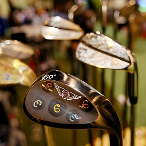 Edel Golf wedges at the 2014 PGA Merchandise Show at the Orange County Convention Center.