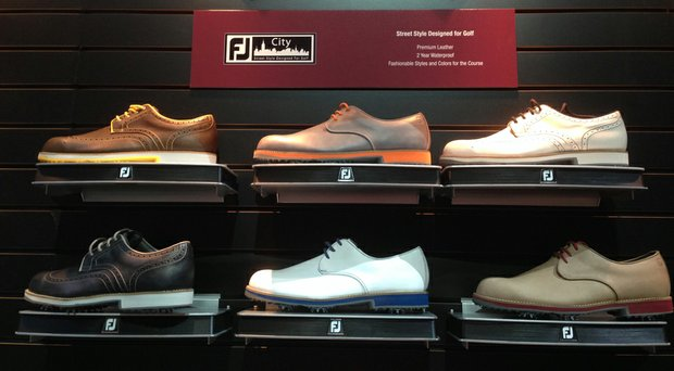 FootJoy will introduce the City line in April.