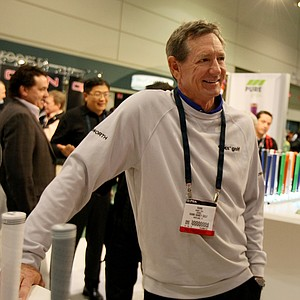 Hank Haney at PURE Grips during the 2014 PGA Merchandise Show at the Orange County Convention Center.