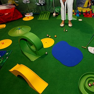 My Mini Golf at the 2014 PGA Merchandise Show at the Orange County Convention Center.