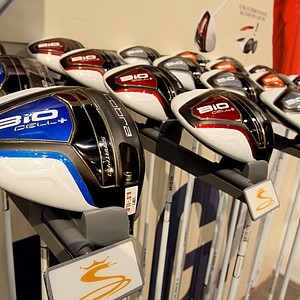 Cobra's BiO Cell+ drivers at the 2014 PGA Merchandise Show at the Orange County Convention Center.