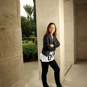 A carefree fun Lydia Ko photographed at the Omni resort at ChampionsGate.