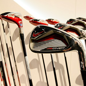 Nike VR_S Covert 2.0 Irons at the 2014 PGA Merchandise Show at the Orange County Convention Center.