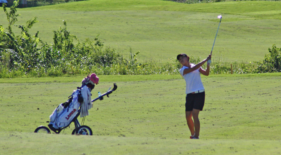 Lamar successfully defended its Southland Conference Championship title with a six-shot victory Thursday at High Meadow Ranch Golf Club in Magnolia, Texas.