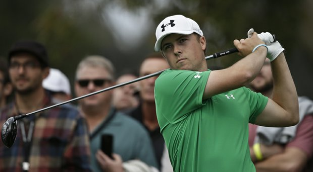 Jordan Spieth during the second round of the PGA Tour's 2014 Farmers Insurance Open in San Diego.