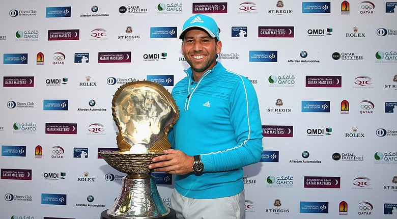 Sergio Garcia won the 2014 Qatar Masters in a three-hole playoff.