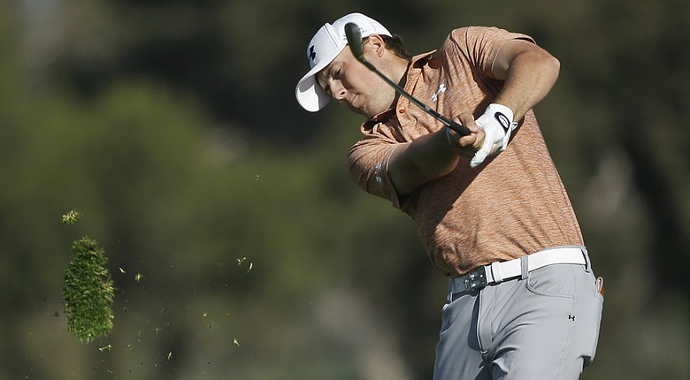 Jordan Spieth during the PGA Tour's 2014 Farmers Insurance Open at Torrey Pines.