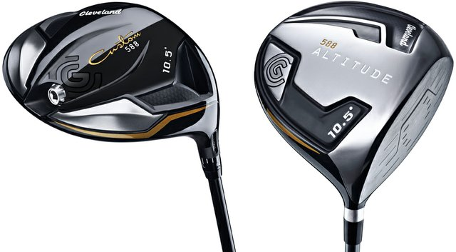 Cleveland 588 Custom and 588 Altitude drivers