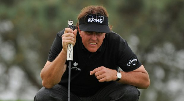 Beside a master golfer, involved business man, devoted family man and charitable mover, Phil Mickelson also likes to support his hometown San Diego Chargers.