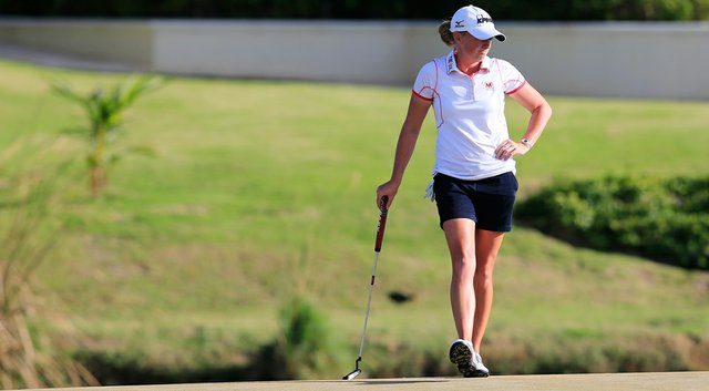 Stacy Lewis kept her momentum going with a runner-up finish at the 2014 Pure Silk Bahamas LPGA Classic.