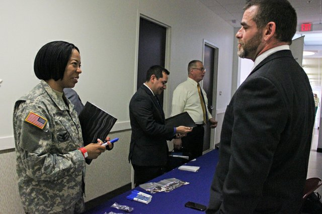 Job fairs such as Hiring Our Heroes pair veterans with recruiters specifically seeking to hire former soldiers.