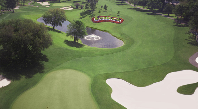 Larry's Packard's signature design trait was the double-dogleg par 5, just like the 14th hole at Innisbrook's Copperhead Course.