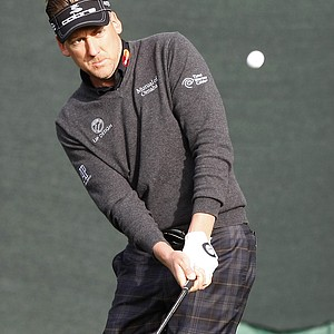 Ian Poulter during the first round of the PGA Tour's 2014 Phoenix Open at TPC Scottsdale.