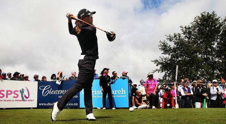 Lydia Ko returns home to New Zealand to play in the New Zealand Women's Open where she is one-shot off the lead.