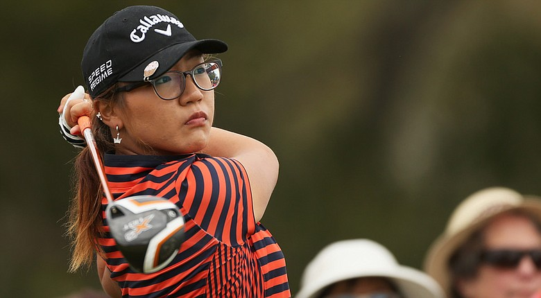 New Zealand's Lydia Ko shot a second consecutive 69 in the second round of the New Zealand Women's Open. Ko, 16, is two shots back of the lead.