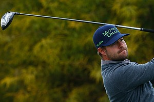 Ryan Moore is in a tie for third at the Phoenix Open, but will play in the final group with leader Bubba Watson and Kevin Stadler.