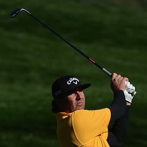 Pat Perez during the final round of the PGA Tour's 2014 Phoenix Open at TPC Scottsdale.
