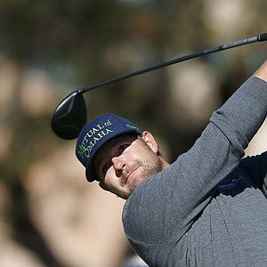 Ryan Moore during the final round of the PGA Tour's 2014 Phoenix Open at TPC Scottsdale.