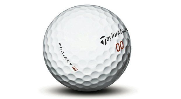 TaylorMade Project (a) golf ball.