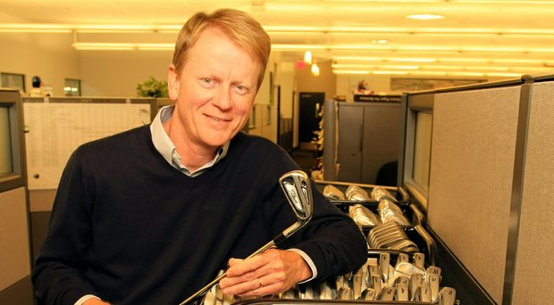 Dan Stone, Titleist's VP of R&D, got his start in golf when he went from designing flight controls for the C-17 military transport plane to figuring out where to place tungsten in an iron head.