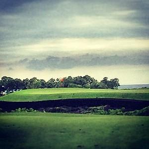 Golf course at Kohanaiki, Hawaii.
