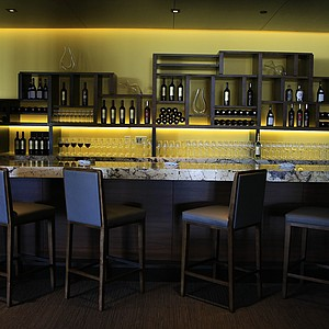 The bar in P2O5 at Streamsong.