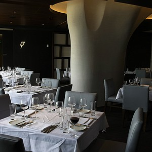 The italian restaurant, Sotto Terra, at the lodge at Streamsong.