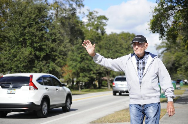 "In recent weeks, locals noticed that the waving man known as ""Lakemont Jack"" had gone missing from his usual post on Lakemont Avenue."