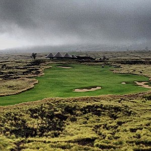 Golf course at Nanea, Hawaii.