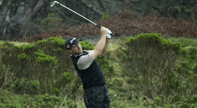 Graeme McDowell during the PGA Tour's 2014 AT&T Pebble Beach (Calif.) National Pro-Am.