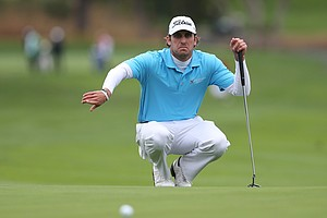 Andrew Loupe during the second round of the PGA Tour's 2014 AT&T Pebble Beach National Pro-Am.