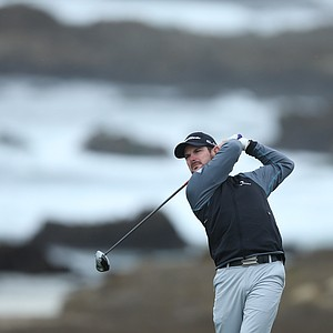 Rory Sabbatini during the second round of the PGA Tour's 2014 AT&T Pebble Beach National Pro-Am.
